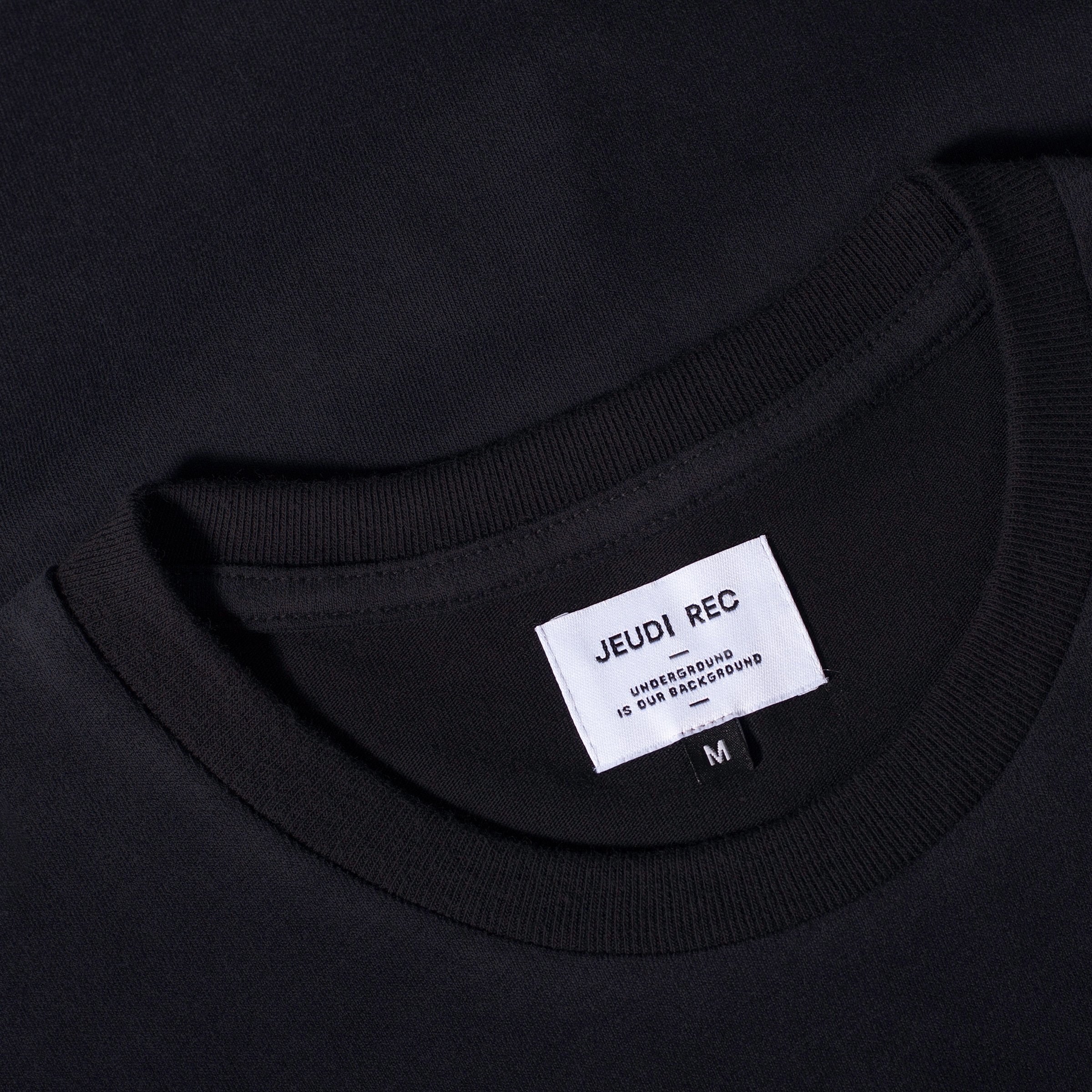 Jeudi Rec T-Shirt Logo Black