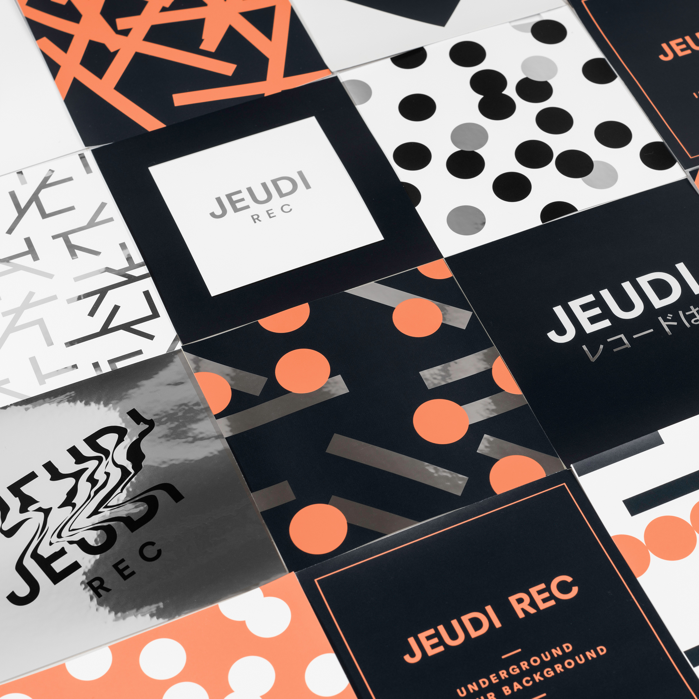 Jeudi Rec Sticker Set